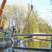 Brückenschlag zum Schleienloch