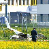 Kleinflugzeug stürzt in Innsbruck ab: Beide Flugzeuginsassen tot