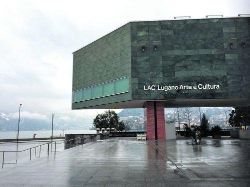 Das LAC Lugano Arte e Cultura. Das Siegerprojekt stammt von Ivano Gianola. E. Rhomberg (3)
