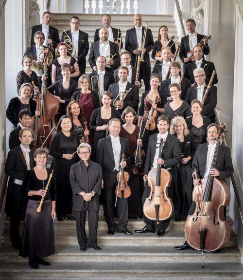 Das Linzer Orchester L'Orfeo gibt Symphonien von Franz Schubert zum Besten. Veranstalter