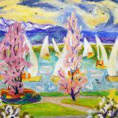 Erinnerung an die Farbvirtuosin am Bodensee
