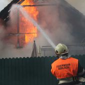 Dachstuhlbrand in Koblach