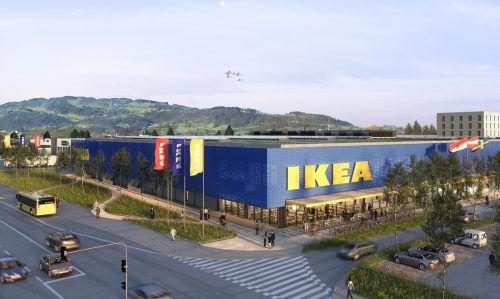 10. April So hätte der Ikea in Lustenau ausgesehen. Der Möbelhändler sagt seine Expansion nach Vorarlberg aber ab. Zuvor hatte die geplante Ansiedelung zu Protesten in der Bevölkerung geführt. ikea