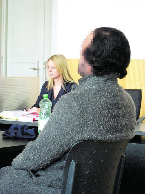 Der Afghane beim Prozessauftakt am 22. März. EC