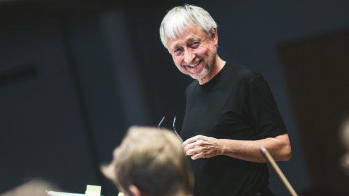 Komponist Herbert Willi ist Mitinitiator des Ensembles PulsArt. Marin