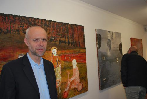Der Dornbirner Künstler ist bekennender Philosoph, was sich auch in seinem Schaffen ausdrückt.