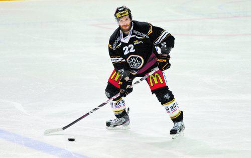 Der Dornbirner Stefan Ulmer wurde mit dem HC Lugano Vizemeister.gepa