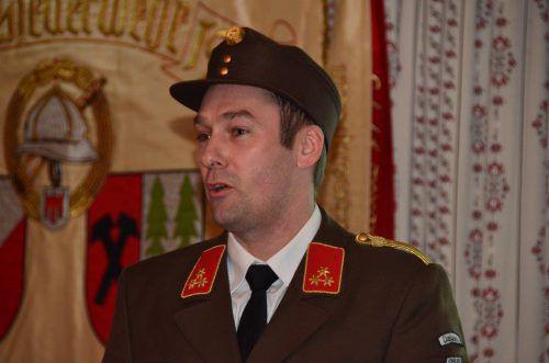 Der neue Dalaaser Bürgermeister. VN