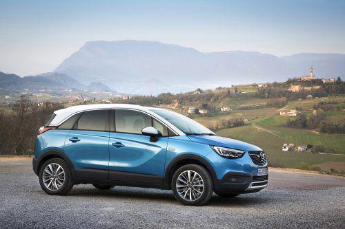 Der Opel Crossland X basierte schon vor der neuen Konzern-Konstellation auf einer Technik-Kooperation mit der PSA-Gruppe (Peugeot, Citroën).