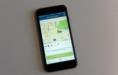Der Parkschein per Handy-App hat bislang etwa 500 Nutzer. Stadt