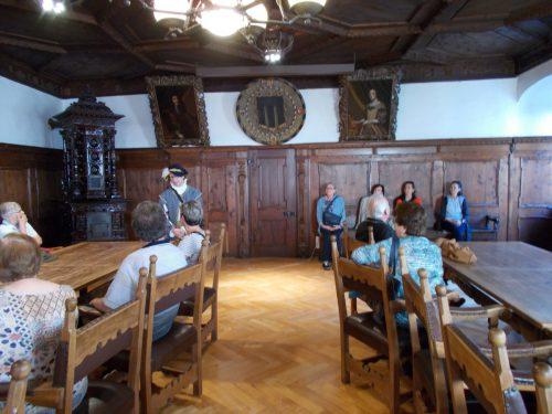 Der Rathaussaal der Montfortstadt blieb der VHS Hohenems als imposant und eindrucksvoll in Erinnerung. BET