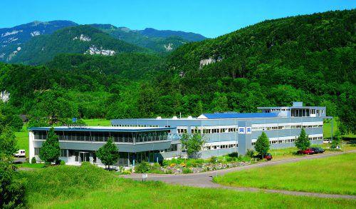 Der Standort vonAmann Girrbach in Koblach. Insgesamt beschäftigt das Unternehmen an mehreren Standorten rund 400 Mitarbeiter.Amann Girrbach