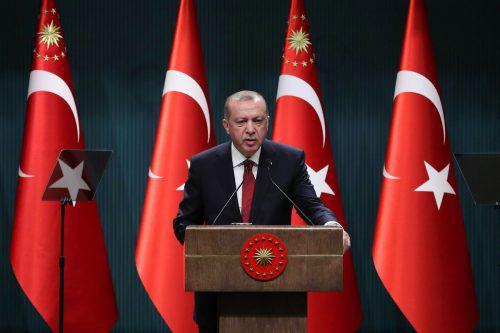 Der türkische Staatschef hat sich für vorgezogene Parlaments- und Präsidentschaftswahlen ausgesprochen. AFP