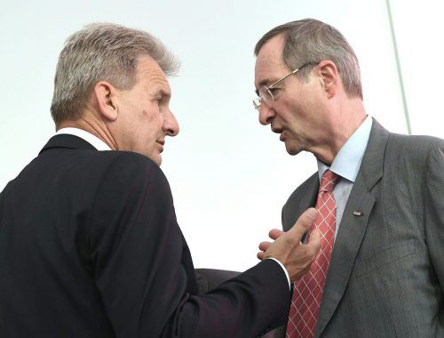 Die alte Generation: ÖGB-Chef Foglar (l.) und Wirtschaftskammer-Präsident Leitl. Auch Arbeiter- und Landwirtschaftskammer zählen zur Sozialpartnerschaft.APA