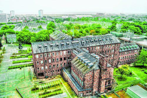 Die beeindruckende Universität im Stadtteil Old Aberdeen. Shutterstock (5)