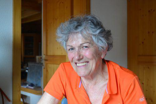 Die Bludenzerin Irmgard Neyer ist leidenschaftliche Yoga-Trainerin und leitet ettliche YogaGruppen im Vorarlberger Oberland. BI
