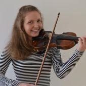Leidenschaft für die Geige