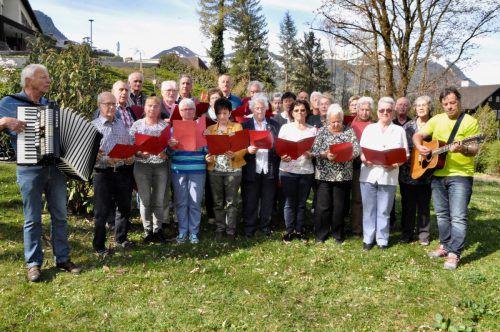 Die Freude am Singen ist das wichtigste Aufnahmekriterium bei der Bludenzer Singgruppe. CM