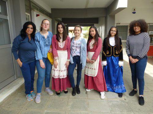 Die Jugendlichen des Dornbirner Bundesgymnasiums knüpften auf Zypern internationale Kontakte. lcf