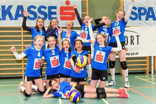 Die Mädchen des BG Dornbirn gehen als Titelverteidiger ins heutige Landesfinale.VN/Stiplovsek