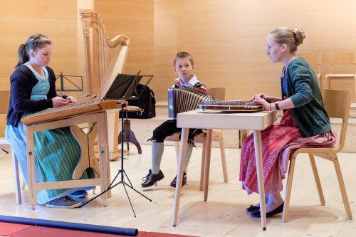 Die Musikschule Bregenzerwald präsentiert eine regionalbezogene Musikauswahl.Ensembles und Solisten sind am Sonntag im Einsatz. mo