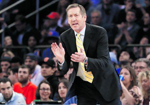 Die New York Knicks feuerten Chefcoach Jeff Hornacek.ap
