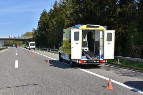 Die Polizistin wurde beim Unfall schwerst verletzt. Kapo