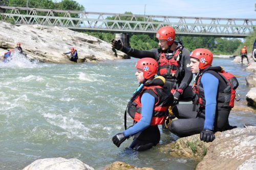 Die Vorarlberger Wasserrettung musste auch zu einigen Einsätzen in Flüssen ausrücken. ÖWR