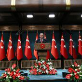 Der türkische Präsident will sich stärken lassen