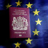Viele Briten wollen EU-Bürger bleiben