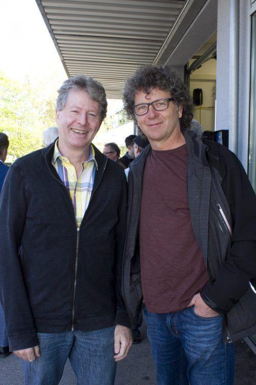 Direktor Bertram Summer (l.) und Fachlehrer Raimund Fürst (LBS-BZ).