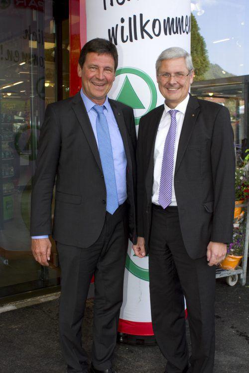 Direktor Gerhard Ritter (l.) und V-Dir. Hans K. Reisch.