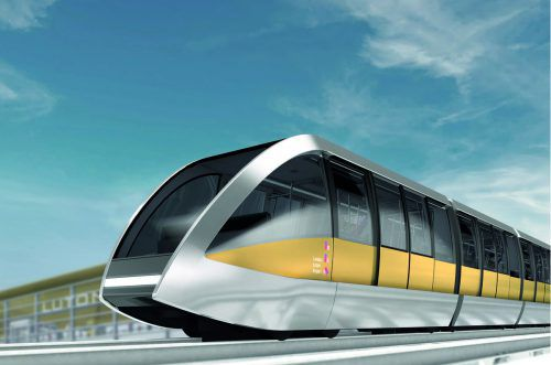 Doppelmayr Cable Car baut am Flughafen London Luton einen knapp zwei Kilometer langen Cable Liner. Der offizielle Spatenstich ist bereits erfolgt. Doppelmayr