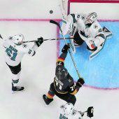 Golden Knights fegen Sharks vom Eis