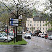 Feldkirch rüstet Parkleitsystem um