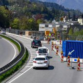 Brückensanierung in der Felsenau