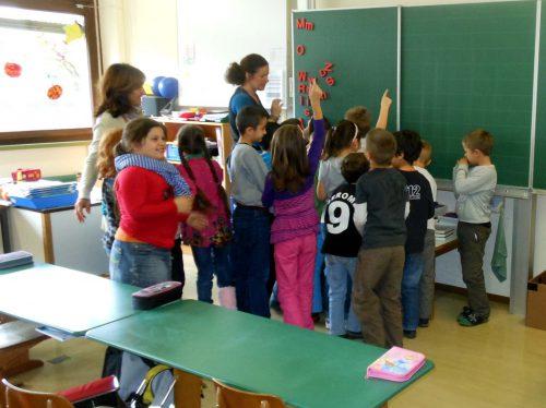 Ein neues Konzept wird in der Schule Schendlingen bereits umgesetzt.fst