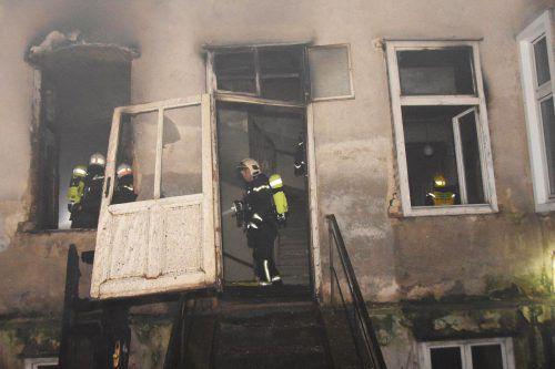 Eine beim Brand verstorbene Bewohnerin hatte das Feuer selbst gelegt. APA