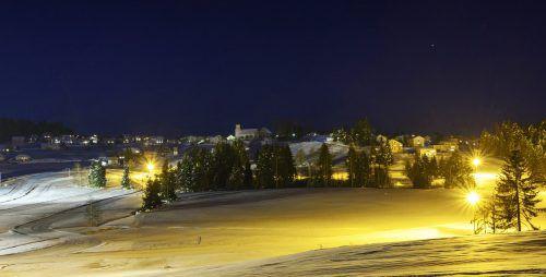 Eine gute Bilanz kann der Nordic Sport Park in der Gemeinde Sulzberg für die vergangenen Wintermonate vorweisen. Alexander Rochau