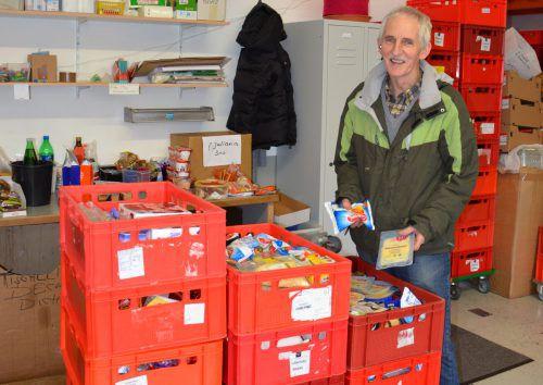 Der Verein Tischlein deck dich wird weiterhin von Montag bis Freitag an den gewohnten Ausgabestellen Lebensmittel abgeben.