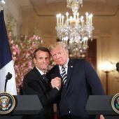 Macron wirbt bei Trump für den Iran-Deal