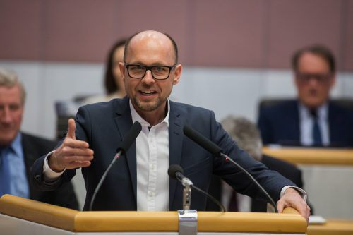 Er hat gut lachen: Michael Ritsch (SP) führt die Popularitätshitparade der Abgeordneten an. VN