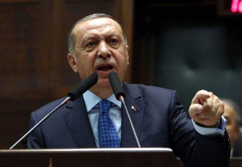 """Erdogan richtete einen Appell an """"meine Bürger in Europa"""". AFP"""