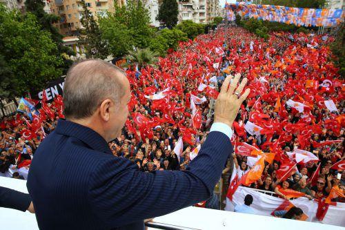 Erdogan wird die Türkei weiter per Dekret regieren. AFP