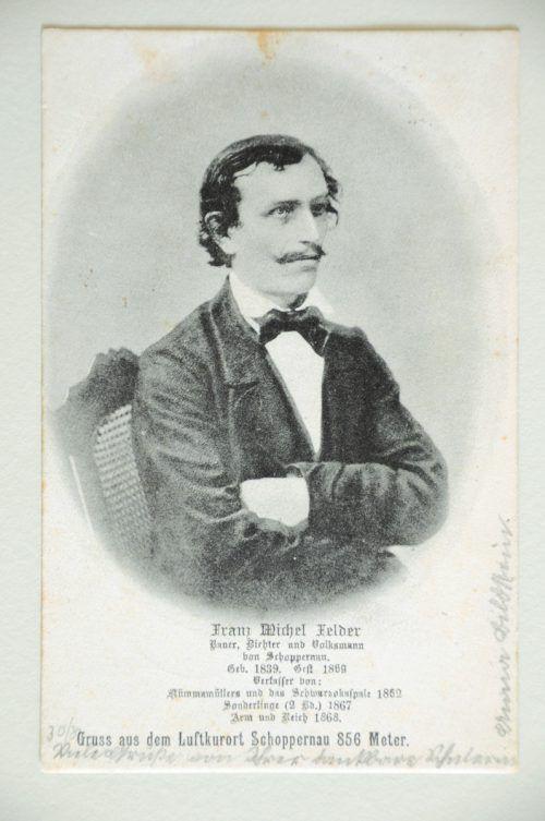 F. M. Felder setzte Raiffeisens Genossenschaftsidee als Erster im Land um. Archiv