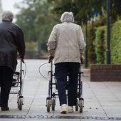 Senioren für Stürze stark gefährdet