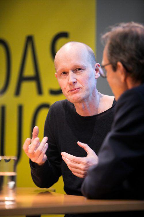 Der Schriftsteller Arno Geiger wurde erneut ausgezeichnet. sams