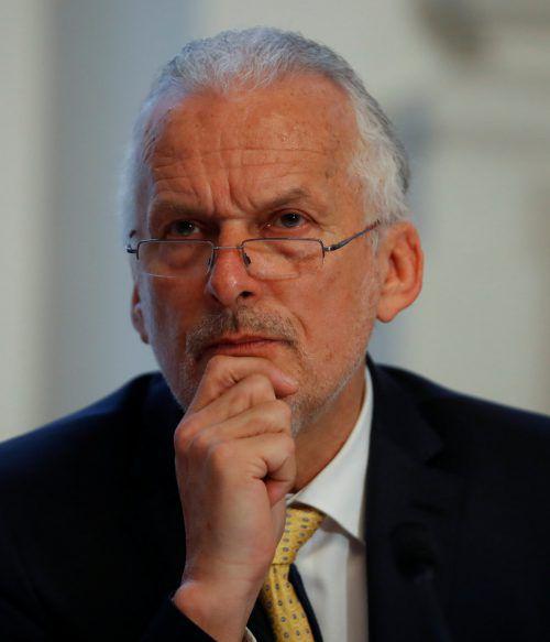 Spekulationen über Mosers Rücktritt wurden von Regierungsseite dementiert.REUTERS