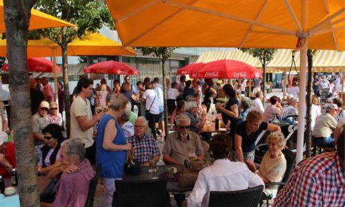 MarktKultur in Lauterach – die Initiatoren hoffen, dass sie das Flair der Veranstaltung auch an den neuen Standort übertragen können. Heute, Donnerstag geht es los. STRAUSS