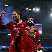 Liverpool (Bild) und Rom feiern nach Siegen über ManCity bzw. Barcelona. C1